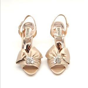 Badgley Mischka Samantha Ankle Strap Evening Shoe
